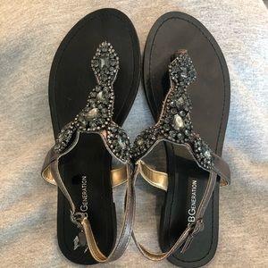 BCBG Baily Jeweled Sandal